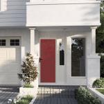 Decoview Security Door laser cut FlowerPower