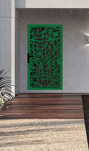 Laser cut security screen door Decoview - Sherryn