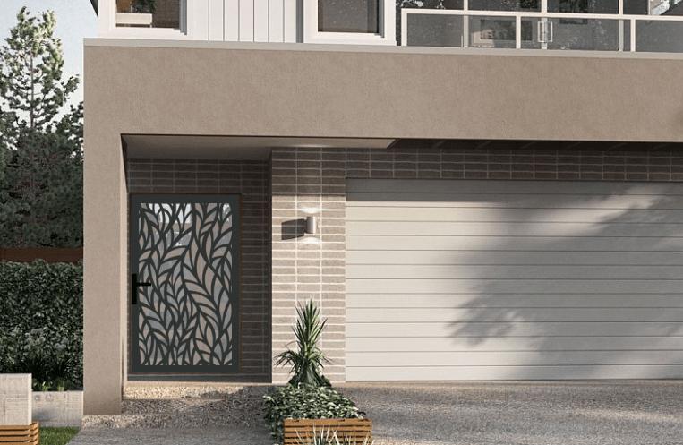 Laser cut security screen door Decoview - Wheatie