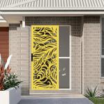 Decoview fancy security screen door idea